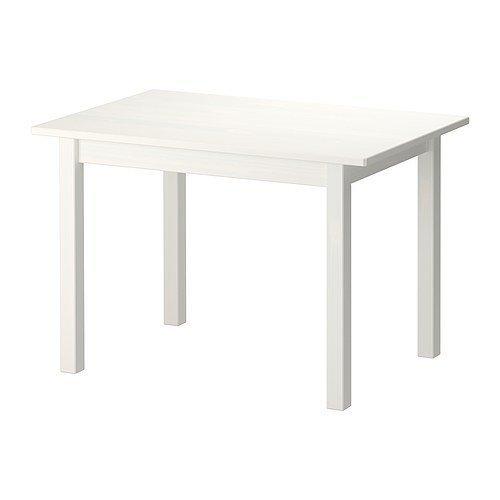 2 XIKEA SUNDVIK -Kinder -s Tisch weiß - 76x50 cm