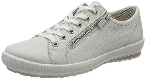 Legero Damen Tanaro Sneaker, Weiß White Kombi Weiss 10, 42.5 EU (Herstellergröße: 8.5 UK)