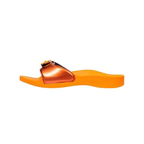 Scholl Mules de Plage Sun Orange 41