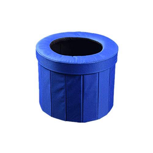 Yughb Tragbare Toiletten, Personal Mobiltoilette, Folding Mietklo Hocker, geeignet for Indoor- und Outdoor Camping