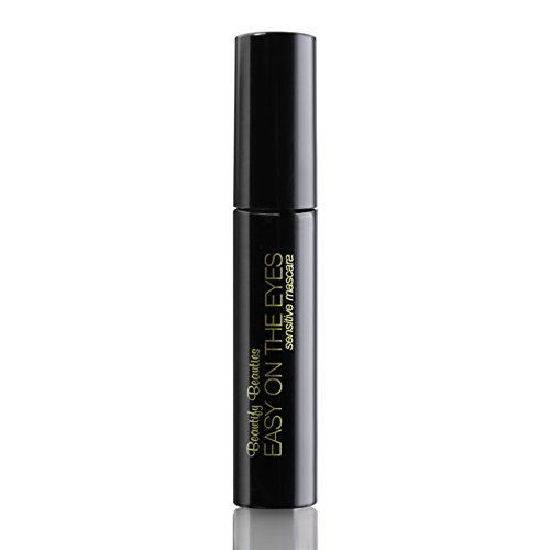 EASY ON THE EYES Sensitive Eye Mascara, Black/Brown (0.35 oz) By Beautify Beauties. Gives You Natural Looking Lashes. Non irritating, Great for Sensitive Eyes, Fragrance-free