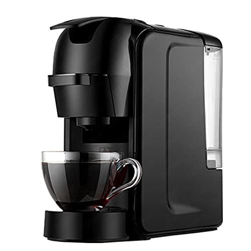 XIAOSAKU Cafeteras Expresso Capsule Coffee Maker 19 Bar Alta Presión 3 en 1 Espresso Café Polvo Máquina de elaboración para el Hogar y la Oficina (Plug Type : US)