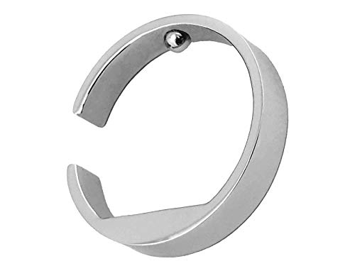 Anneau d'acupression « Good Night » en acier inoxydable « Application au petit doigt – Taille et pression réglable