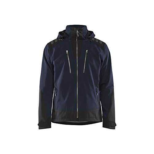 Blaklader 4749251386994XL Veste Softshell Bleu marine foncé/noir Taille 4XL