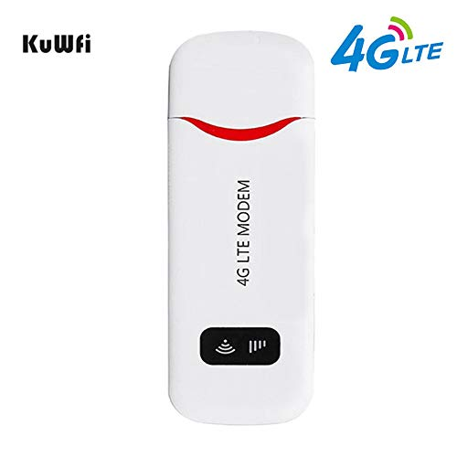 VSVABEFV Unlocked 4G LTE USB Modem 100 Mbps Mini USB 4G Dongle...