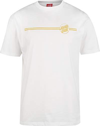 Santa Cruz Opus Dot Stripe Camiseta