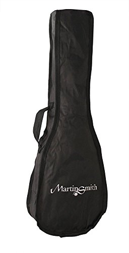 Martin Smith bolsa acolchada bolsa de ukelele para soprano ukelele