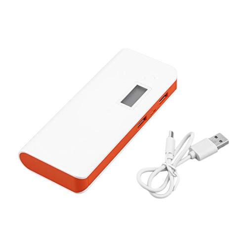Candybarbar 50000mAh Dual USB Pantalla Digital Teléfono móvil Banco de energía Externa Batería Cargador de Fuente de alimentación para teléfono i