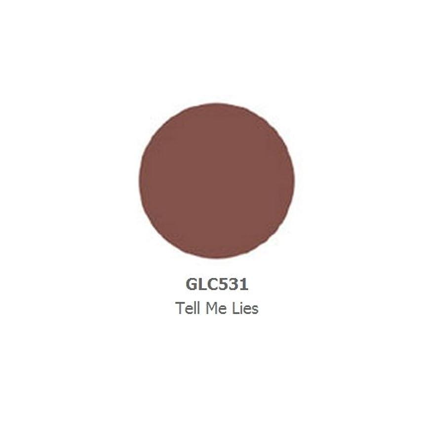 暴動上向き額(3 Pack) LA GIRL Luxury Creme Lip Color - Tell me Lies (並行輸入品)