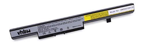 vhbw Li-ION Batterie 2200mAh (14.8V) Noir pour Ordinateur Portable Laptop Notebook Lenovo Eraser N50, N50-30, N50-45, N50-70