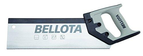 Bellota 4565-12 SERRUCHO COSTILLA MANGO BIMATERIAL 300MM, Acero, 300 mm
