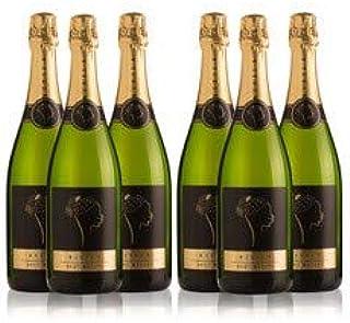 LADRÓN DE LUNAS Cava Bisila Brut Nature. Cava de la Comunidad Valenciana. 90% Chardonnay, 10% Macabeo. Botella de 75 Cl (Pack de 6 botellas): Amazon.es: Alimentación y bebidas