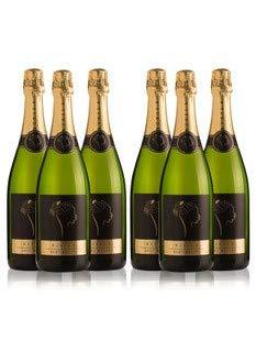LADRÓN DE LUNAS Cava Bisila Brut Nature. Cava de la Comunidad Valenciana. 90% Chardonnay, 10% Macabeo. Botella de 75 Cl (Pack de 6 botellas)