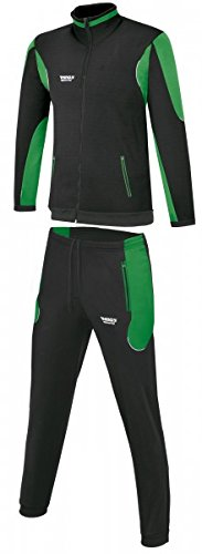 RHINOS sports Trainingsanzug Athletico schwarz/grün XXL