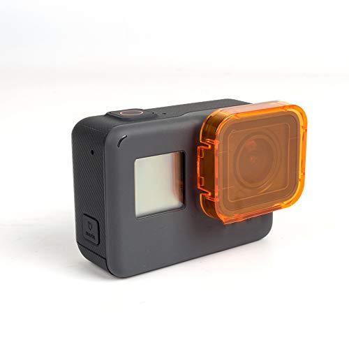 oobest 6 Kleuren Filters voor GoPro Hero 5 Onderwater Video Filmen Duiken Waterdichte Kleur Correctie Filter, roze