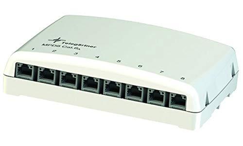 TELEGÄRTNER H02000A0103 Mini-Verteiler MPD8 AMJ/UMJ TH35/AP