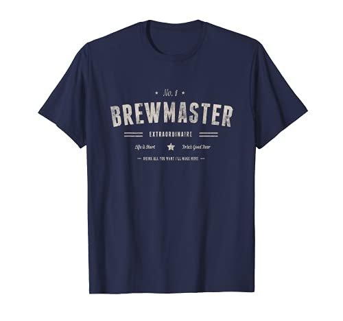 Brewmaster Brewery T-Shirt Beer Brewing Gift T-Shirt