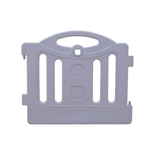 LIUFS-Clôture Home Fence Combinaison Une pièce Jeu d'apprentissage de la Marche Centre d'activités de sécurité (Taille : Single Piece Gray)