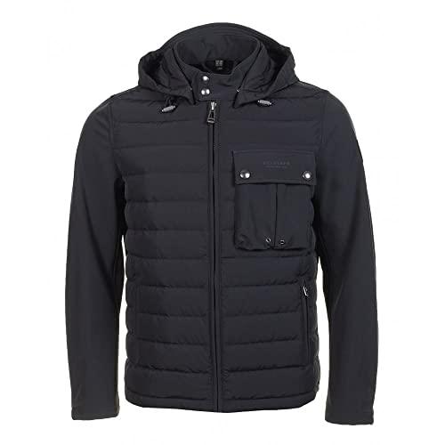 Belstaff Wing Hybrid-Softshell-Jacke für Herren, Schwarz, Schwarz , 46 DE/S