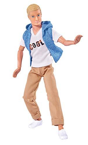 Simba 105733059 - Steffi Love Cool Kevin, Spielpuppe, voll beweglich, in cooler Freizeitmode, 30cm, ab 3 Jahren