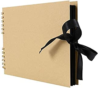 FTFTO Rénovation de la Maison ameublement Albums Photo Album Scrapbook Noir pour Album Photo Papier Artisanal Bricolage Sc...