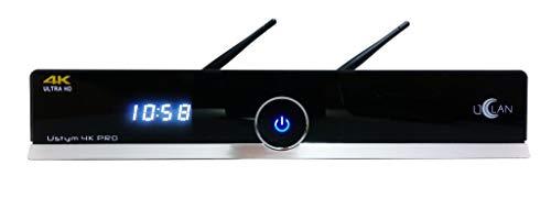 Decoder Enigma 2 Uclan Ustym 4K Pro Combo DVB-S2X+DVB-T2 C Wifi Multistream