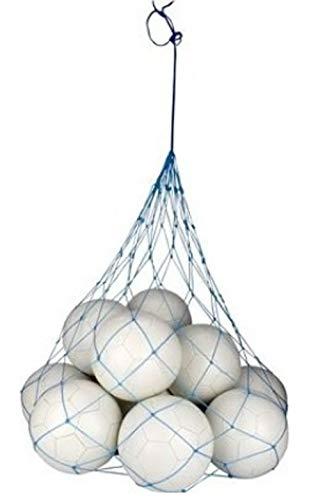 Schreuders Sr Deq Red para 12 Bolsa de balones Fútbol, Adultos Unisex, Azul (Azul), Talla Única