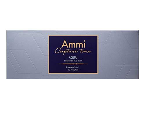 AMMI Aqua Hyaluronique Filler - Certifié CE et ISO - Conçu en Allemagne - 1 ml - Traitement des rides moyennes à profondes.