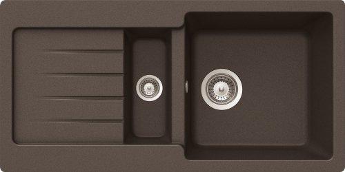Schock TYPD150SUGMC Typos D-150S Unterbauspüle, mocha
