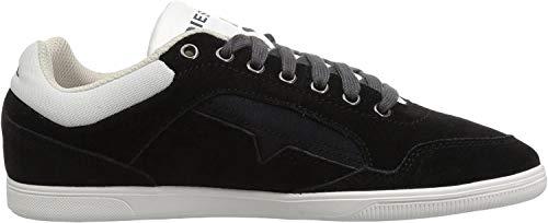 Diesel Herren S-Happy Low Sneakers, Schwarz (Black T8013), 44 EU