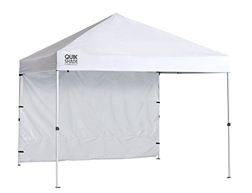 Quik Shade Commercial 10 x 10 ft. Straight Leg Canopy, White