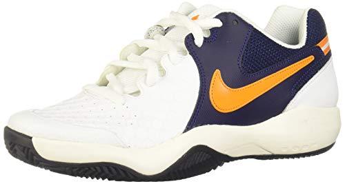 Nike 922064, Scarpe da Tennis Uomo, Bianco (White/Orange Peel-Blackened Bl 180), 40.5 EU