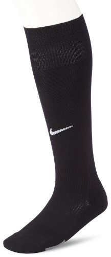 NIKE - Calcetines de fútbol para hombre, color negro (black/white), talla L