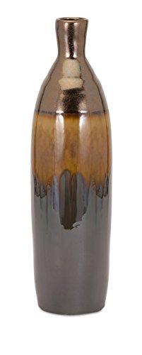 IMAX 13816 Murlin Large Ceramic Vase, Brown