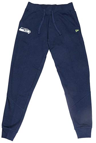 New Era Seattle Seahawks Jogging Hose - NFL Track Pants - Navy - M