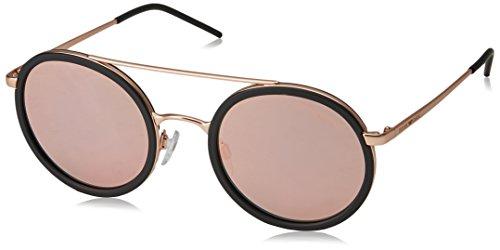 Emporio Armani 0EA2041 Gafas de sol, Matte Pink Gold, 50 Unisex-Adulto