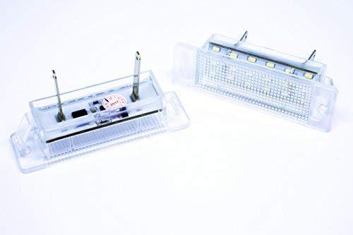 VINSTAR 2X Lumières de Immatriculation LED pour Calibra Astra F Canbus