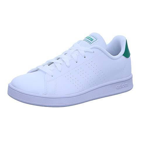 adidas Advantage Blanco Verde NIÑO EF0213