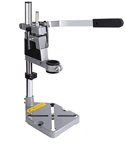 Soporte para taladro con columna de banco, banco de trabajo, mesa superior, abrazadera para herramientas de reparación, soporte para taladro vertical, soporte para taladro de prensa manual