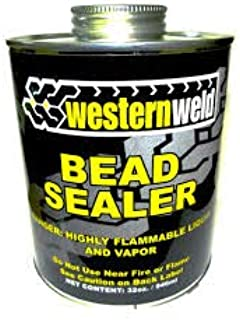 Sherco-Auto Western Weld Black Tire Repair Bead Sealer 1 Qt Can