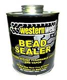 Sherco-Auto Western Weld Black Tire Repair Bead Sealer 1 Qt Can