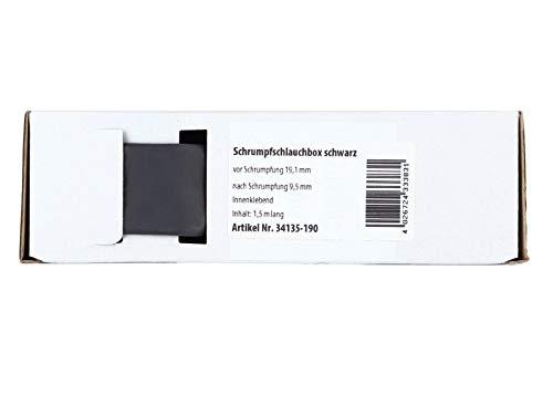 ACV Gaine thermoretractable Noir Ø 19.1 mm / 1.5 m