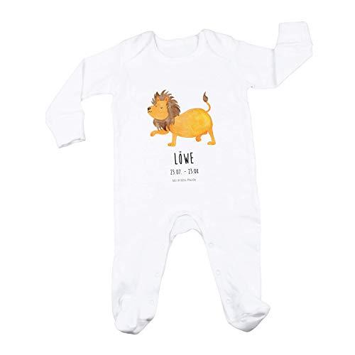 Mr. & Mrs. Panda Junge, Geburt, 3-6 Monate Baby Strampler Sternzeichen Löwe Classic...
