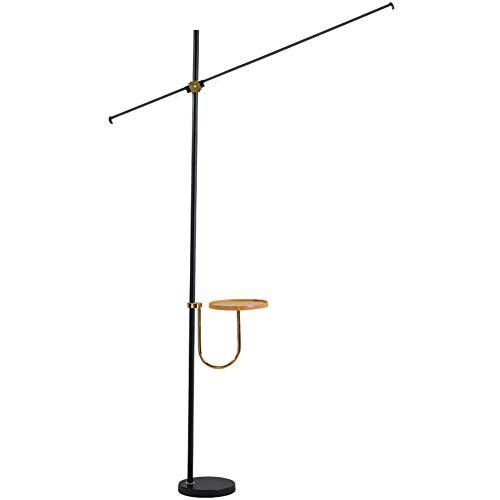 MJBOY vloerlamp in Nordic stijl LED vloerlamp met bijzettafel creatief minimalistische moderne camera verticale lamp