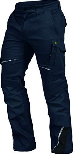 Leib Wächter Flex-Line Workwear Bundhose Arbeitshose mit Spandex (marine/schwarz, 52)