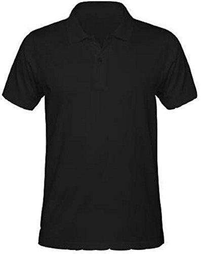 Poloshirt met korte mouwen voor heren van katoen, basic, super pasvorm, topkwaliteit, ideaal voor kantoor, bar Negozio