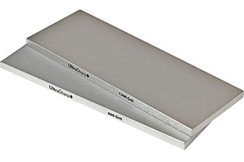 Ultra Sharp Diamond Sharpening Stone Set - Fine/Extra Fine - 8 x 3