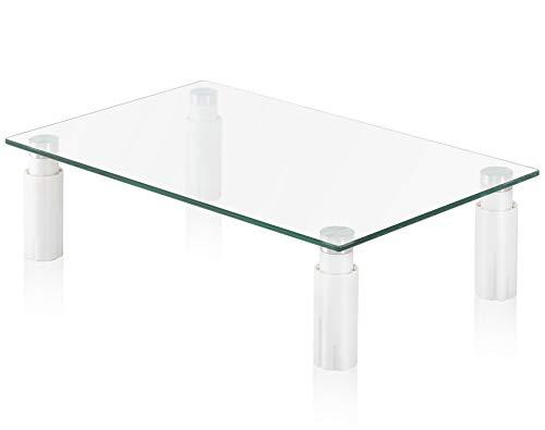FITUEYES Cristal Elevador del Monitor Soporte de la Sobremesa para Xbox One Altura Ajustable DT103806GC