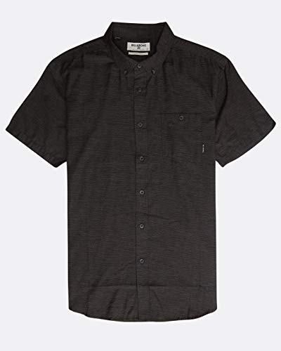 BILLABONG™ All Day Short Sleeve Shirt - Shirt - Men - M - Grau