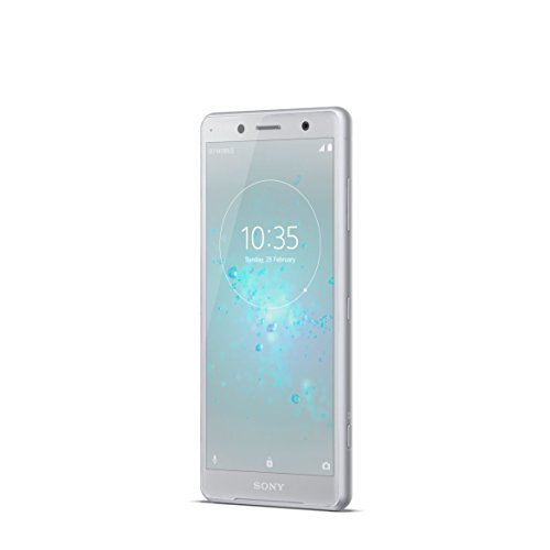 Sony Xperia XZ2 Compact Smartphone avec écran IPS Full HD+ 64 Go de mémoire interne et 4 Go de RAM, simple SIM, IP68, Android 8.0 Blanc/argenté